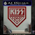Kiss Army Decal Sticker DRD Vinyl 120x120