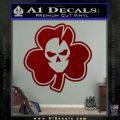 Lucky Skull Shamrock Irish Luck Decal Sticker DRD Vinyl 120x120