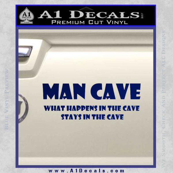 man cave decal sticker wide  u00bb a1 decals