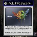 Native American Eagle Decal Sticker Glitter Sparkle 120x120