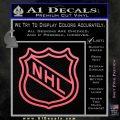 Nhl Shield D2 Decal Sticker Pink Emblem 120x120