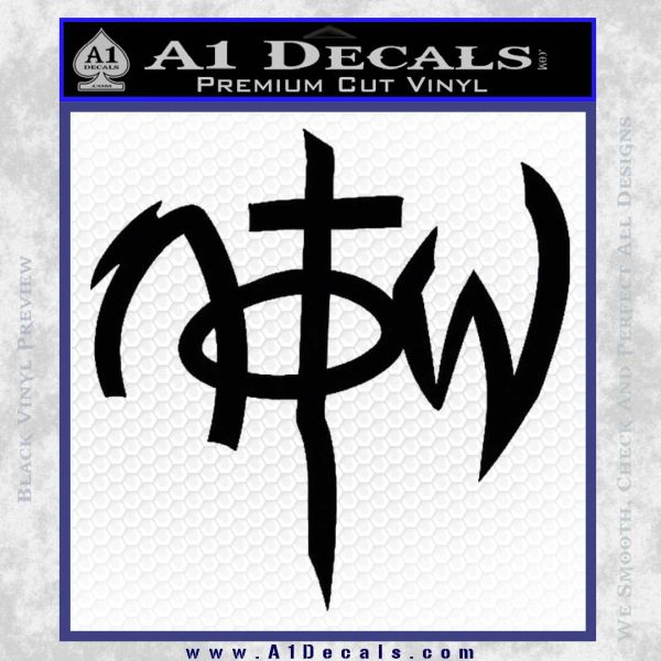 Not Of This World DS Decal Sticker Black Vinyl