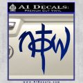 Not Of This World DS Decal Sticker Blue Vinyl 120x120