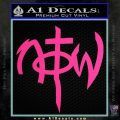 Not Of This World DS Decal Sticker Pink Hot Vinyl 120x120