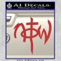 Not Of This World DS Decal Sticker Red 120x120