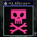 Planes Dusty Skull Wrenches Decal Sticker Pink Hot Vinyl 120x120