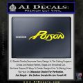Poison Band Decal Sticker Yellow Laptop 120x120