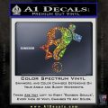 Question Religion Decal Sticker Glitter Sparkle 120x120