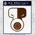 Tech N9ne Decal Sticker Brown Vinyl Black 120x120