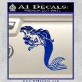 The Little Mermaid Decal Sticker Ariel Blue Vinyl Black 120x120