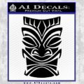 Tiki Decal Sticker Black D1 Vinyl Black 120x120