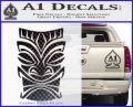 Tiki Decal Sticker D1 CFB Vinyl Black 120x97