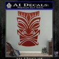 Tiki Decal Sticker D1 DRD Vinyl Black 120x120