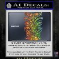 Tiki Decal Sticker D1 Spectrum Vinyl Black 120x120