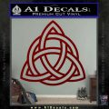 Trinity Knot Triquetra Decal Sticker DRD Vinyl 120x120