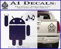 Android Rockin Out Music Decal Sticker PurpleEmblem Logo 120x97