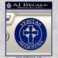 Boondock Saints Veritas Aequitas D3 Decal Sticker Blue Vinyl 120x120