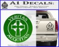 Boondock Saints Veritas Aequitas D3 Decal Sticker Green Vinyl Logo 120x97