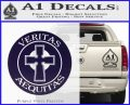 Boondock Saints Veritas Aequitas D3 Decal Sticker PurpleEmblem Logo 120x97