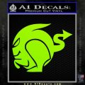 Boost Speed Demon Decal Lime Green Vinyl 120x120