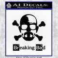 Breaking Bad Crossbones Decal Sticker Black Vinyl 120x120