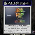Breaking Bad Heisenberg Decal Sticker Glitter Sparkle 120x120