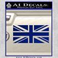 British Flag Decal Sticker Blue Vinyl 120x120