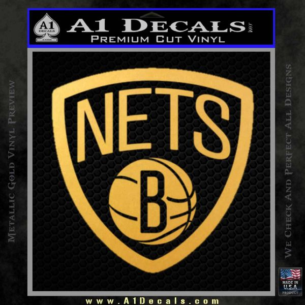 Brooklyn Nets D Decal Sticker A Decals - Custom vinyl decals brooklyn