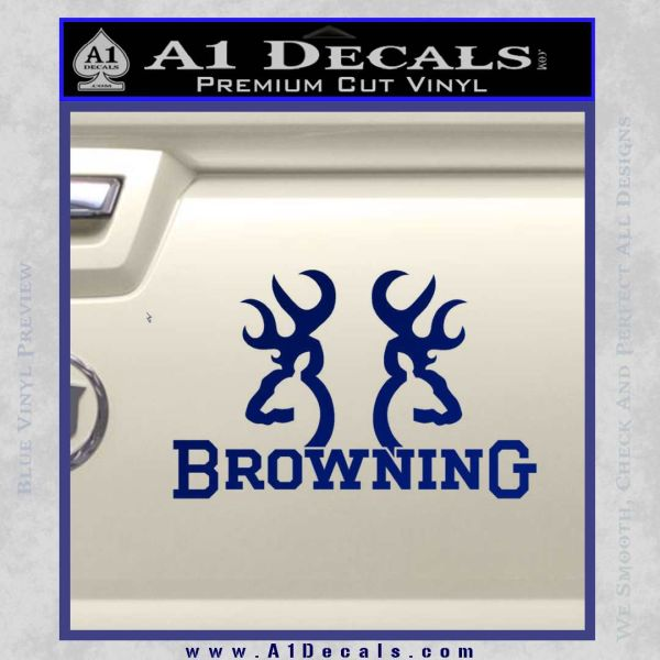 Browning Decal Sticker D A Decals - Browning vinyl decals