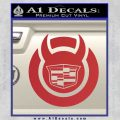 Cadillac Diablo Sport D3 Decal Sticker Red 120x120
