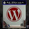 Customizable Wordpress Logo D1 Decal Sticker DRD Vinyl 120x120