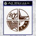 Dallas Texas Pro Sports D1 Decal Sticker BROWN Vinyl 120x120