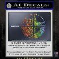 Dallas Texas Pro Sports D1 Decal Sticker Glitter Sparkle 120x120