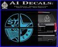 Dallas Texas Pro Sports D1 Decal Sticker Light Blue Vinyl 120x97