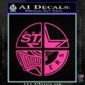 Dallas Texas Pro Sports D1 Decal Sticker Pink Hot Vinyl 120x120
