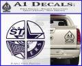 Dallas Texas Pro Sports D1 Decal Sticker PurpleEmblem Logo 120x97