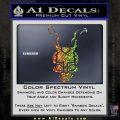 Donnie Darko Frank Decal Sticker Glitter Sparkle 120x120