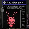 Donnie Darko Frank Decal Sticker Pink Emblem 120x120