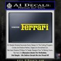 Ferrari Logo DW Decal Sticker Yellow Laptop 120x120
