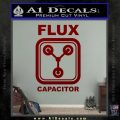 Flux Capacitor Decal Sticker DRD Vinyl 120x120
