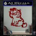 Garfield Decal Sticker Sitting DRD Vinyl 120x120