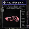Hot Wheels Bmw D1 Decal Sticker Soft Pink Emblem Black 120x120