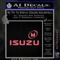 Isuzu Full Decal Sticker Pink Emblem 120x120