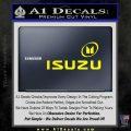 Isuzu Full Decal Sticker Yellow Laptop 120x120