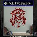 Jesus In Thorns Decal Sticker DRD Vinyl 120x120