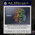 Jesus In Thorns Decal Sticker Glitter Sparkle 120x120