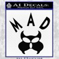 MAD Inspector Gadget Decal Sticker Black Vinyl 120x120