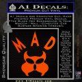 MAD Inspector Gadget Decal Sticker Orange Emblem 120x120