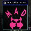 MAD Inspector Gadget Decal Sticker Pink Hot Vinyl 120x120