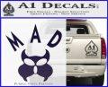 MAD Inspector Gadget Decal Sticker PurpleEmblem Logo 120x97